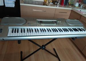 Music casio wk3300 keyboard -stand