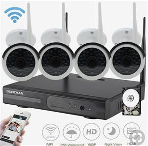 Network work CCTV system installation