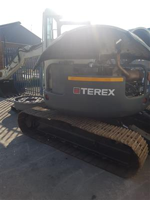 2007 Terex 7.5 ton mini excavator for sale