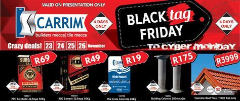 K Carrim Crazy Deals This Black Friday