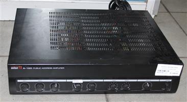 Inter MA120 amplifier S031717A #Rosettenvillepawnshop