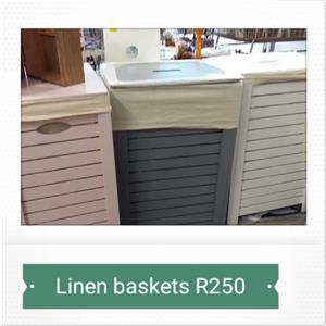 Wooden Linen Baskets