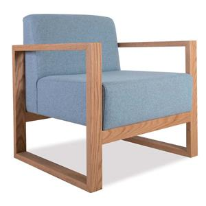 Niagara Wooden Frame Visitors Chair | Office Stock