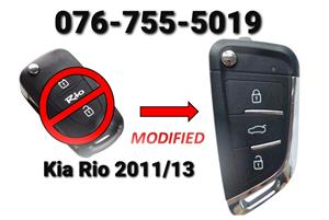 Kia Rio Spare modify key