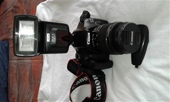 Canon 1100d camera with metz flash R2500