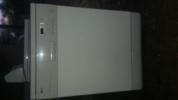 Lg dish washer white