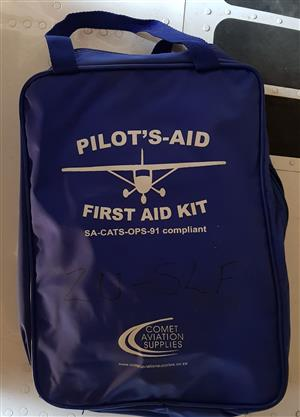 Pilots Aid First Aid Kit for Aircraft