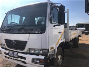 Nissan Ud80 dropside truck for sale in very good condition Contact BERTIE 072-707-9933