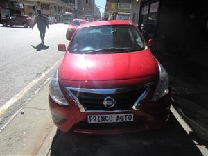 2017 Nissan Almera 1.5 Acenta auto