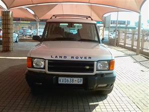 2001 Land Rover Discovery DISCOVERY 2.0D S