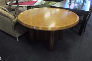 Wooden Round Desk