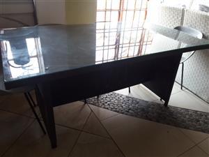 Medium Sized 6 Seater Patio Table