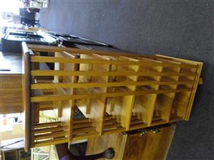 Solid Wooden DVD / CD Rack