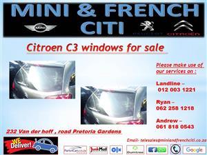 Citroen C3 windows for sale !!