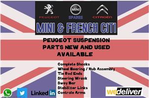 Peugeot suspension parts for sale