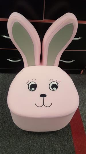 Bunny Ears Pink Chair Kids Furniture