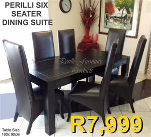 PERILLI SIX SEATER DINING SET
