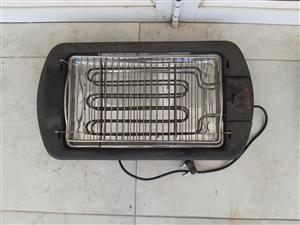 Electric water-cooled braai grill for sale - choice of 2
