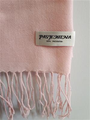 Light Pink Pashmina Scarf!!