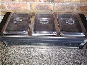 Buffet Food Server/Plate Warmer for sale