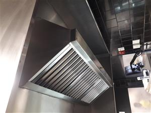 Extraction Canopies fans