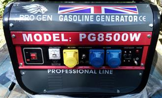 Brand new Pro Gen Generator 8500 watts