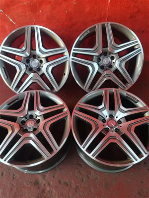 mercedes benz rims for ML 21inch