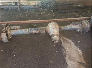 MB Trac 1300 Mercedes tractor rear axle / diff.