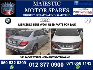 Mercedes benz w204 stripping for spares for sale