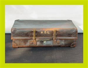 Vintage Suitcase - SKU 850