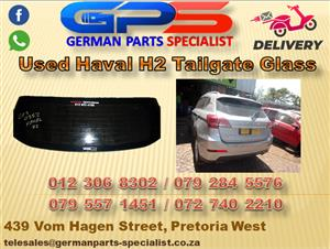 Used GWM Haval H2 Tailgate Glass Part for Sale