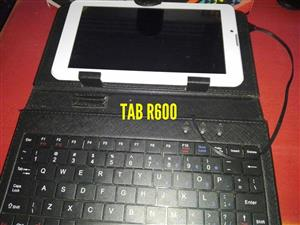 White tablet with keyboard for sale