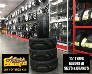 Tyres brand new 15 inch 195 50 15 from R550