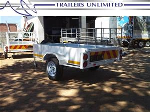 TRAILERS UNLIMITED FLATBED UNIT 2500 X 1600 X 400. 1500KG AXLE.