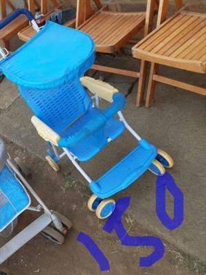 Blue stroller for sale