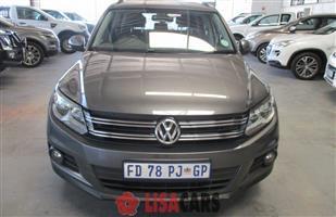 2012 VW Tiguan Allspace TIGUAN ALLSPACE 1.4 TSI TRENDLINE DSG (110KW)
