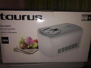 Taurus ice cream maker