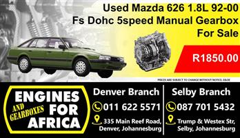 Used Mazda 626 1.8L Dohc 92-00 Fs 5Speed Manual Gearbox For Sale