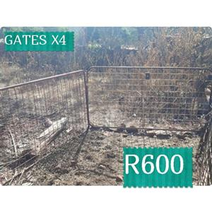 4 x gates for sale