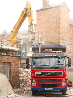 Rubble removal and demolition in Gauteng