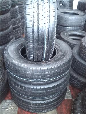255/70/16 Continental tyres