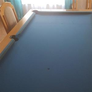 Pool Table /Dining Table in 1