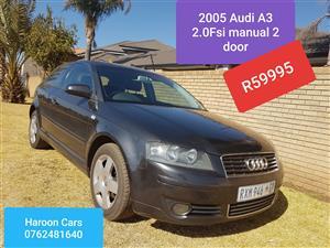 2005 Audi A3 2.0 Ambition