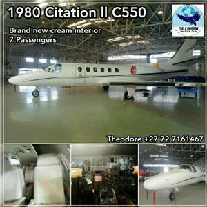 REDUCED PRICE 1980 CITATION II 550