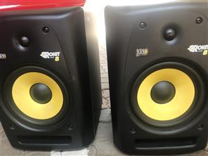 KRK Rokit 8 RPG 2 Studio Monitors & M-Audio Soundcard for sale  Pretoria - Pretoria East