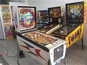 Hot Line pinball machine, a 1 player pinball by Williams for sale