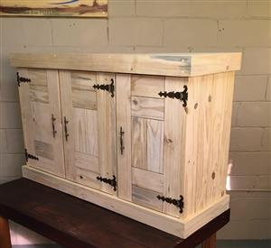 Kitchen Cupboard Wall unit Farmhouse series 1300 Raw