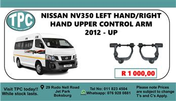 Nissan NV350 Left Hand/Right Hand Upper Control Arm 2012 - Up - For Sale at TPC
