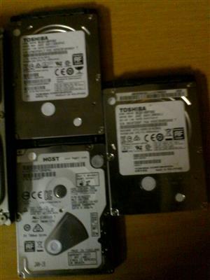 500Gb Laptop and Desktop Harddrives for sale
