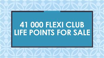 41 000 Flexi Club Life Points for sale